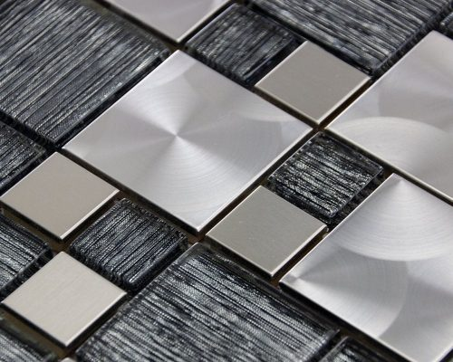 luxury-textured-grey-glass-brushed-steel-mix-mosaic-wall-tiles-sheet-8mm-p32796-160775_zoom